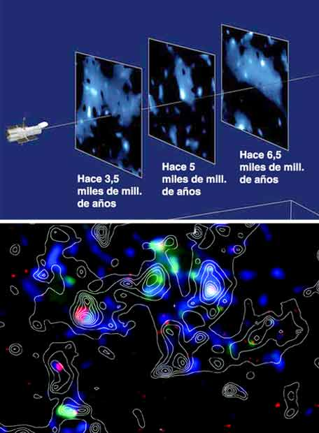 Observaciones del 'Hubble'- NATURE