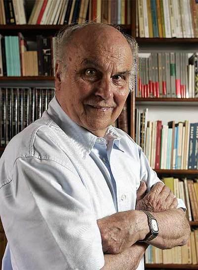 El escritor polaco Ryszard Kapuscinski