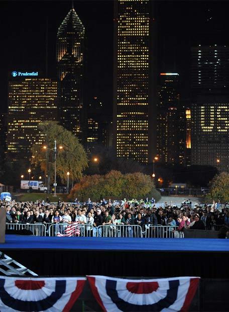 Chicago espera a Obama