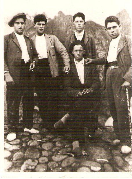 Exhumación de una fosa común de la Guerra Civil en Villanueva de la Vera (Cáceres)  - Los cinco hombres de Villanueva de la Vera (Cáceres) obligados a cavar su propia tumba