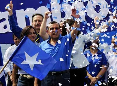 Primeros mítines electorales en Honduras