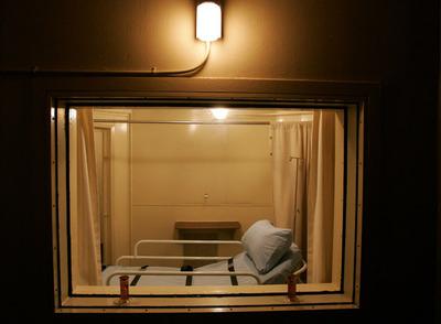 Pena de muerte Cámara de ejecución de la prisión central de Raleigh, en Carolina del Norte (EE UU). - AP - 11-10-2009