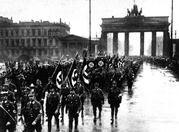 Desfile nazi en Berlín