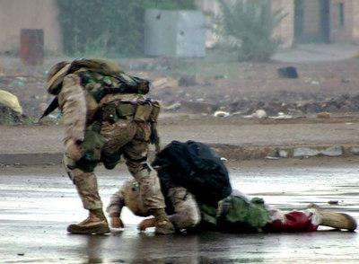 <i>Marines </i> en Faluya (Irak)