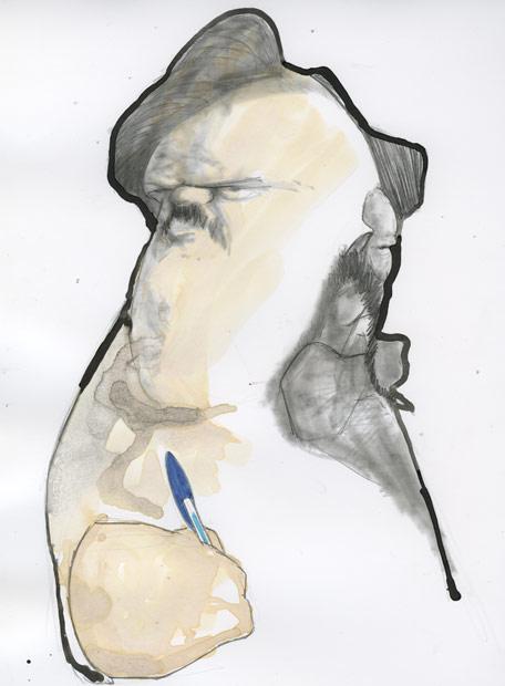 Honoré de Balzac y Gustave Flaubert