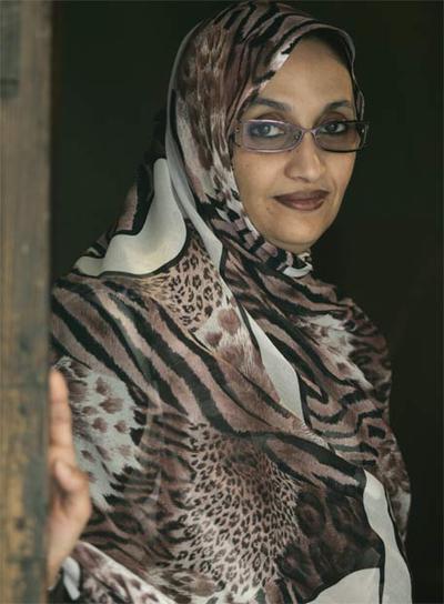 Aminatou Haidar - Ampliar imagen