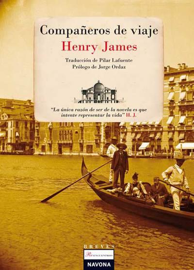Portada de 'Compañeros de viaje', de Henry James