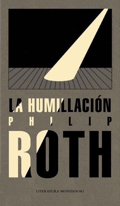 Portada de la novela 'La humillación', de Philip Roth