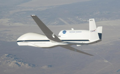 Avión robótico Global Hawk