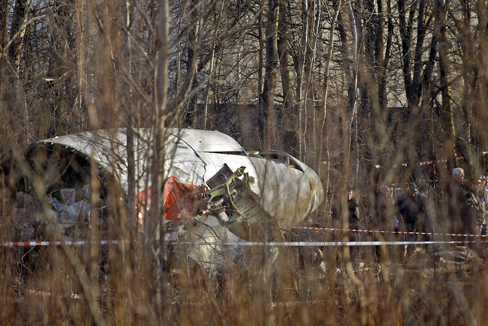 Muere en un accidente aéreo el presidente de Polonia  - Un accidente sin precedentes