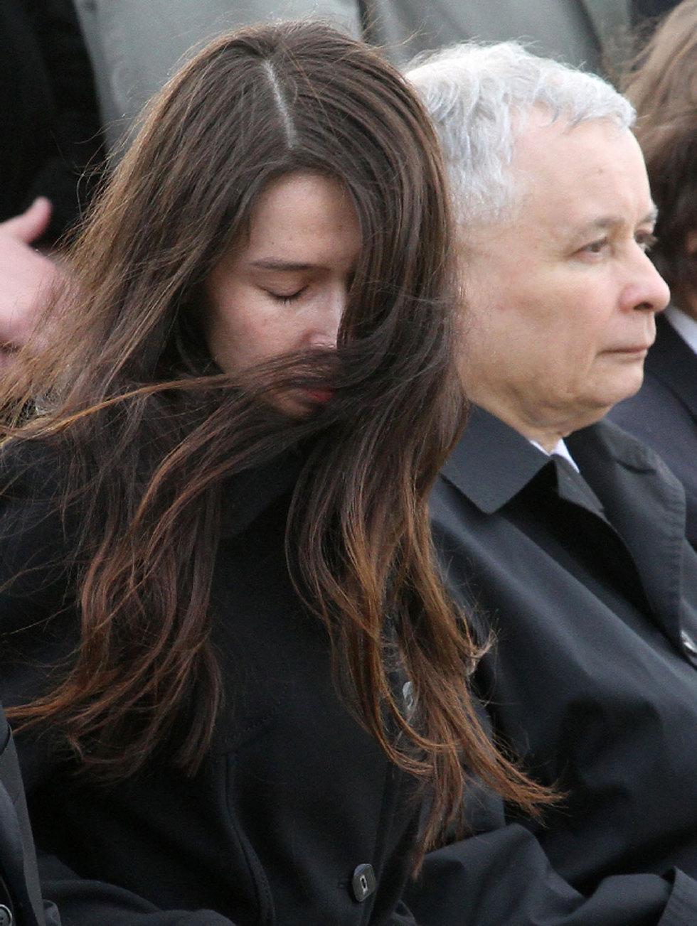 Polonia llora a Kaczynski  - El dolor de Marta