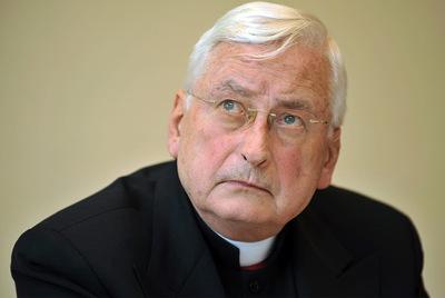 El obispo Walter Mixa.