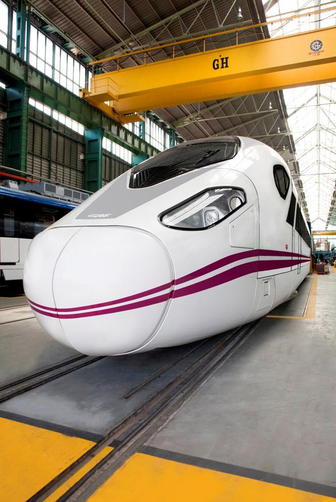Tren de alta velocidad Oaris