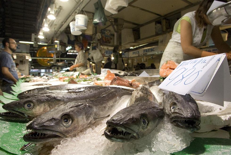 Puesto de pescadería