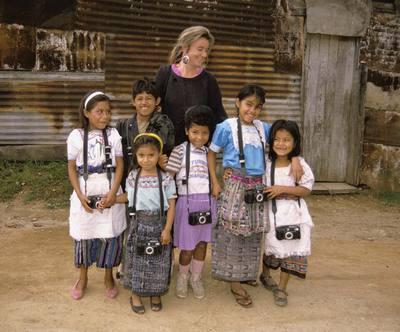 Niños fotógrafos en Guatemala