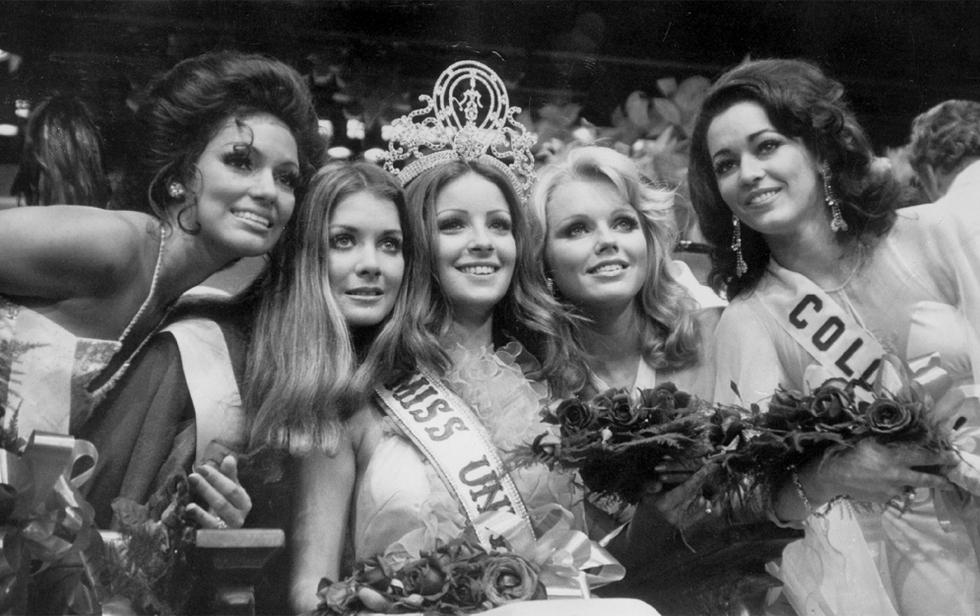 Amparo Muñoz Miss Universe 1974