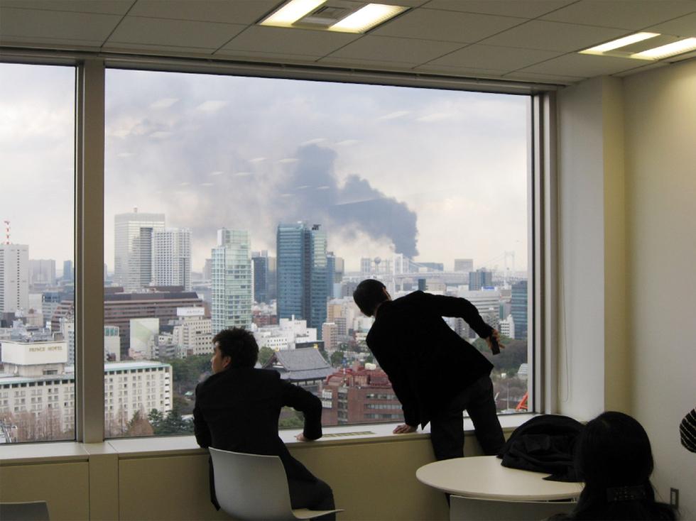 Terremoto en Japón  - Desde Tokio