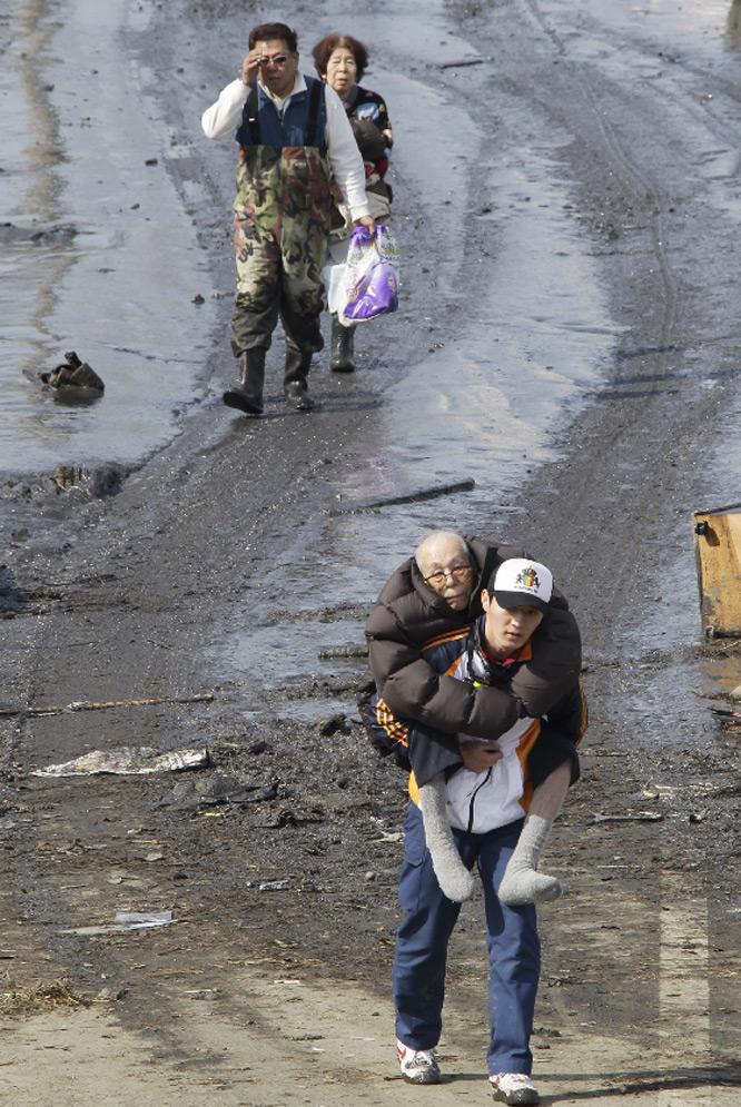 Evacuados de sus casas