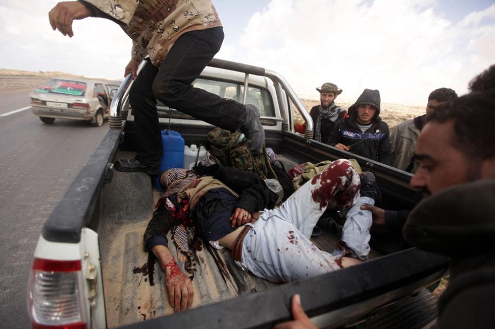 Operación 'El Amanecer de la Odisea' en Libia  - Heridos