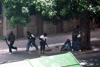 Jóvenes pro-Gbagbo
