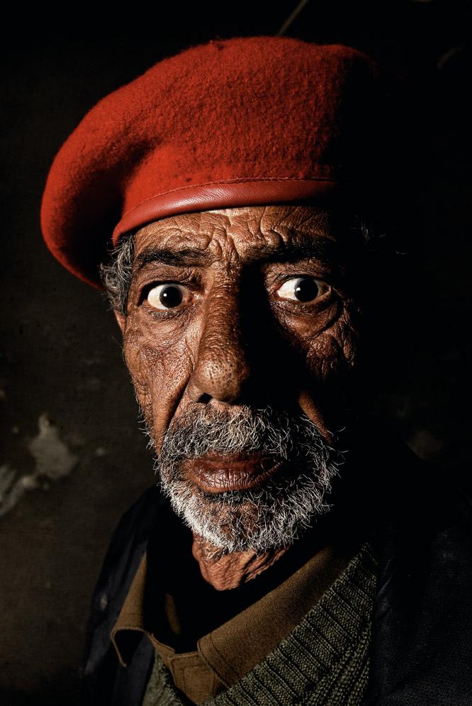 Retratos de rebeldes libios  - El enfermero veterano