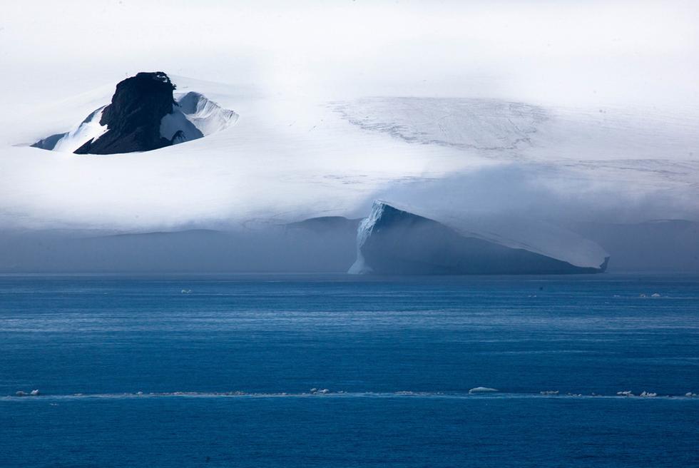 El barco 'Polarstern' de vuelta de la Antártida  - El paisaje de la Antártida
