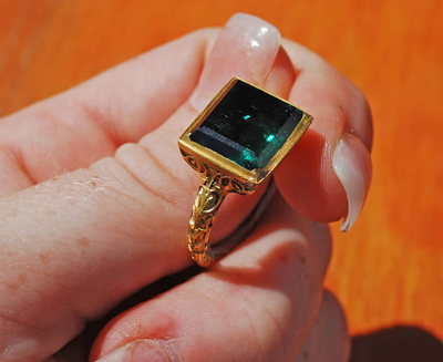 Emerald Ring from Our Lady of Atocha
