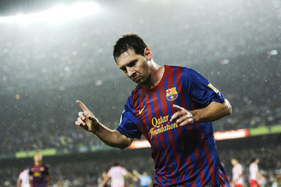 Messi Nike Qatar Jersey 2011