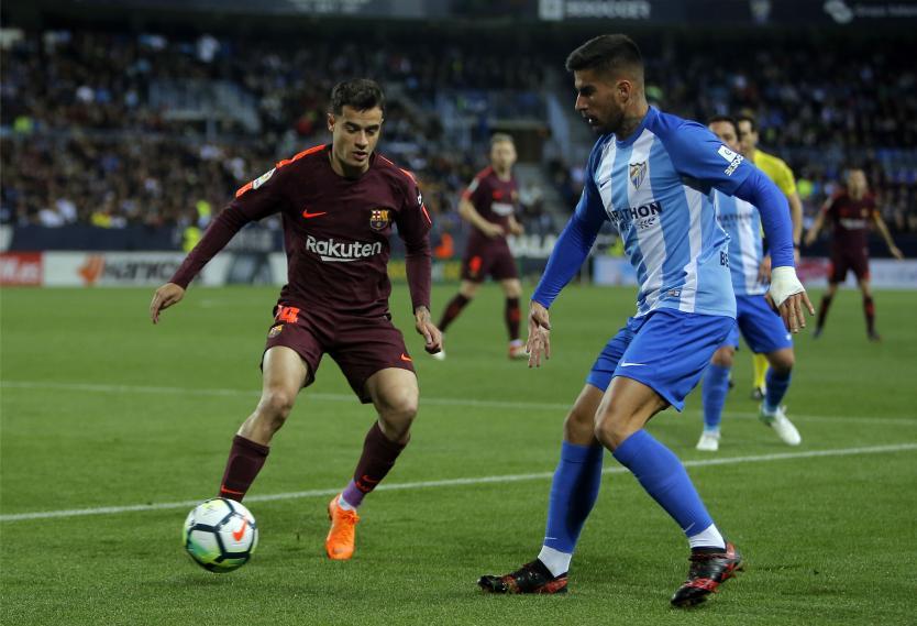 Messi, baja de última hora ante el Málaga por