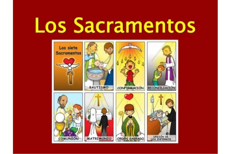 De Sacramentos Ley Dios La 7 De Los
