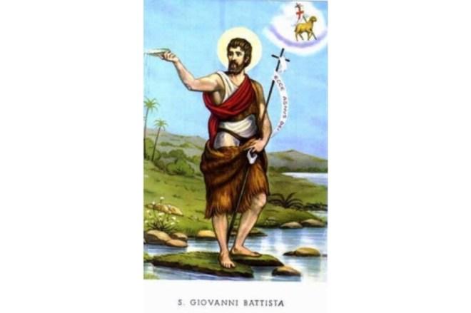 San Juan Bautista - 24 de Junio