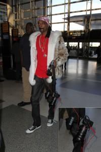 Snoop Dogg no suelta su cámara.