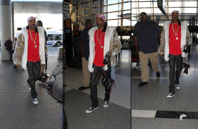 ¿Snoop Dogg de fotógrafo?