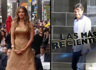 Sofia Vergara y Eugenio Derbez en Las Más Recientes
