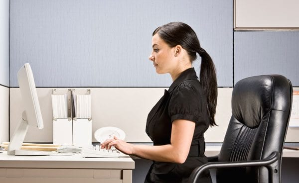 Practicing Good Posture Can Relieve Back Pain