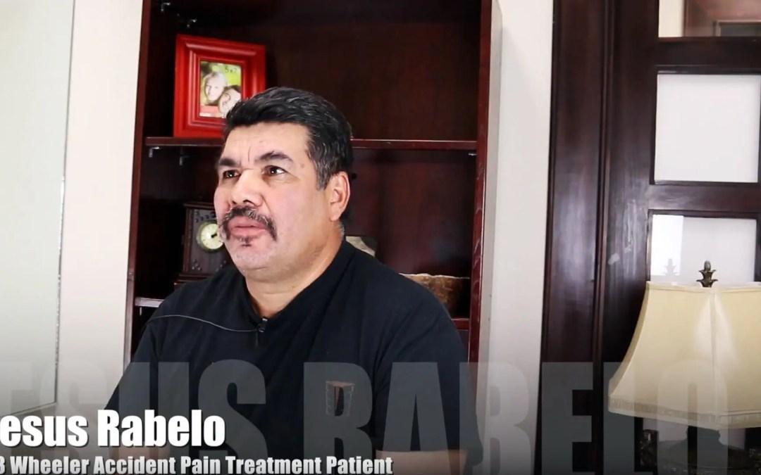Trattamento del dolore agli incidenti con Wheeler 18 El Paso, TX | Gesù Rabelo