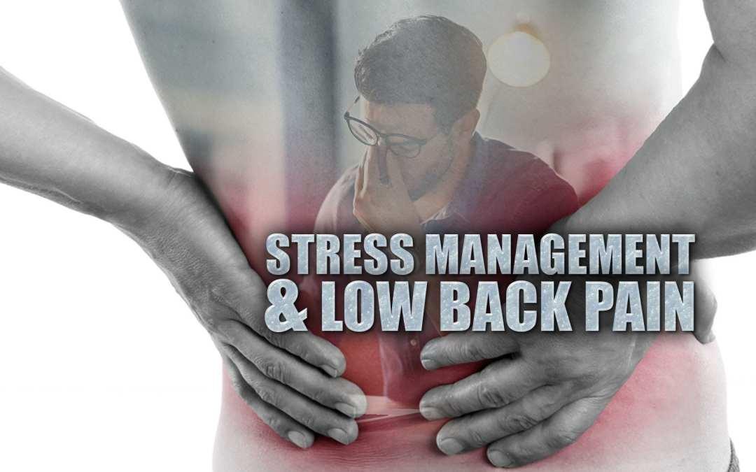 Gestione dello stress e lombalgia a El Paso, TX