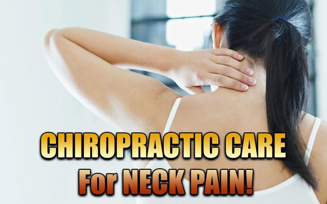 Tratamiento quiropráctico para el dolor de cuello | El Paso, TX.