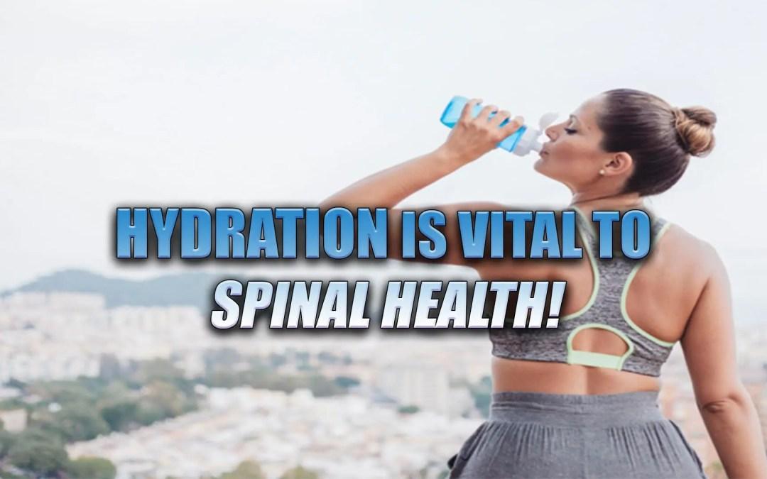 L'idratazione è importante per la salute del midollo spinale a El Paso, TX.