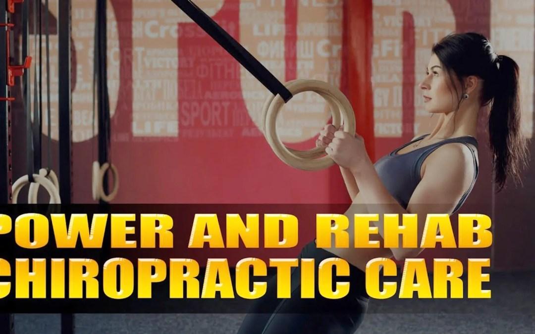 Potere e riabilitazione di cura di chiropratica