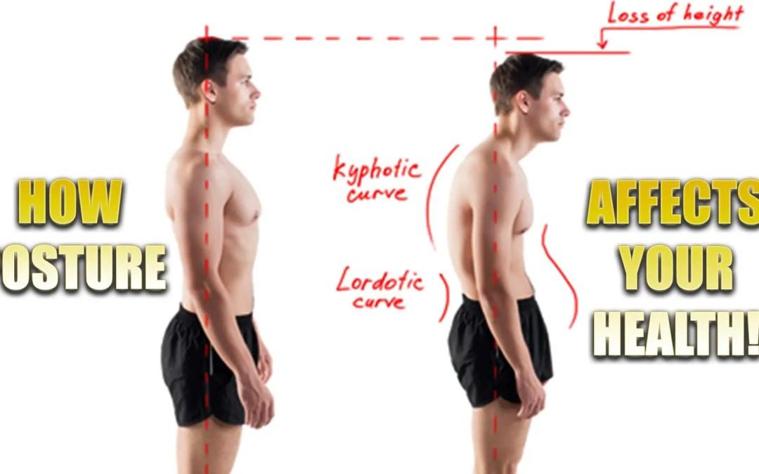 La postura influisce sulla salute | El Paso, TX.