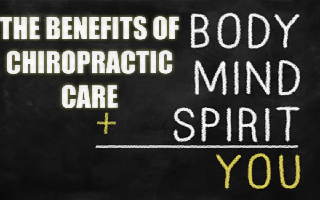 Benefici per la salute dalla cura chiropratica