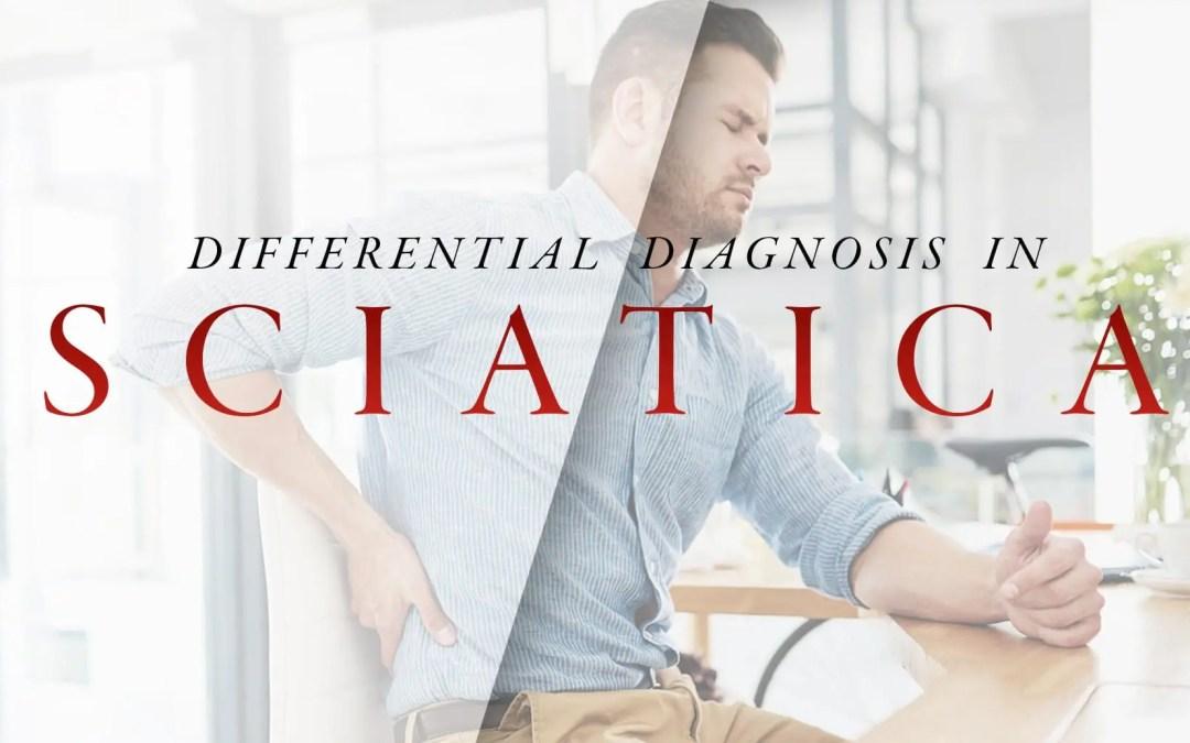 Diagnosi differenziale nella parte sciatica 2