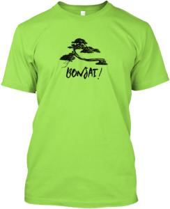 bonsai men's t-shirt