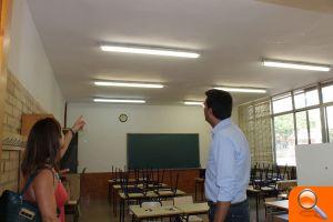 L'Ajuntament d'Alfafar mejora la iluminación de sus centros educativos