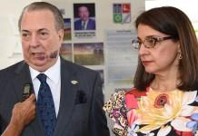 Eduardo Selman y Ruth Herrera