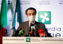 El gobernador de la región italiana de Lombardía (norte), Attilio Fontana. EFE/EPA/MOURAD BALTI TOUATI/Archivo