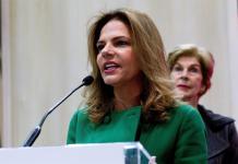 La presidenta de Procolombia, Flavia Santoro. EFE/Javier Liaño/Archivo