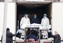 Pandemia: amontonan cadáveres en contenedores en Miami-Florida