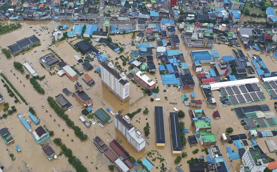 Tifón deja 42 muertos y decenas de desaparecidos en Corea del Sur